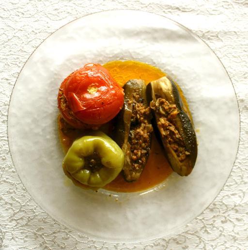 Légumes farcis en Arménie