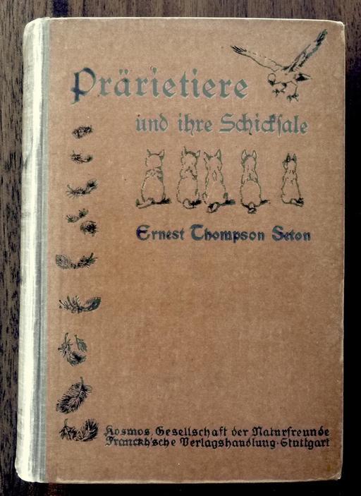 Les animaux de la prairie en 1921