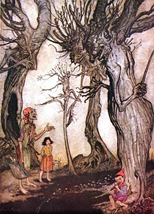 Les arbres et la hache