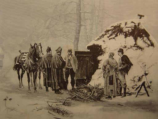 Les braconniers en 1881