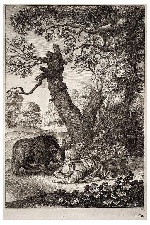 Les bûcherons et l'ours