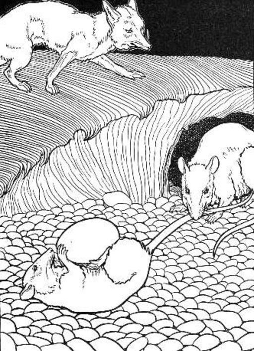 Les Deux Rats, le Renard, et l'Œuf