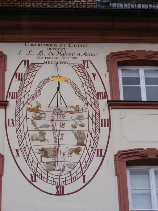 Les douze signes du zodiaque de la bibliothèque de Fulda en 1796