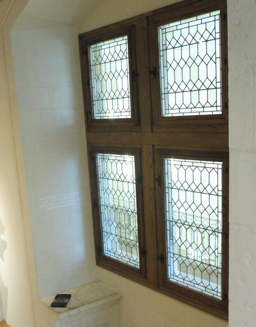 Les fenêtres au musée des beaux-arts de Dijon