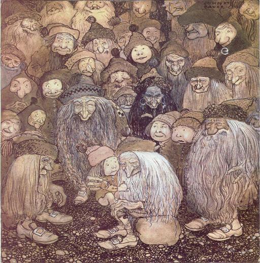 Les gnomes de John Bauer