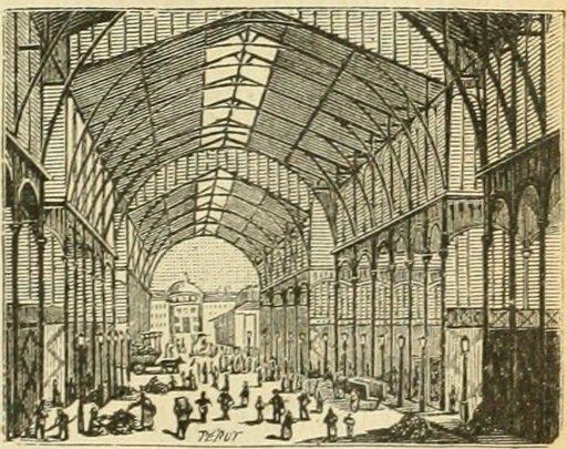 Les Halles de Paris en 1877