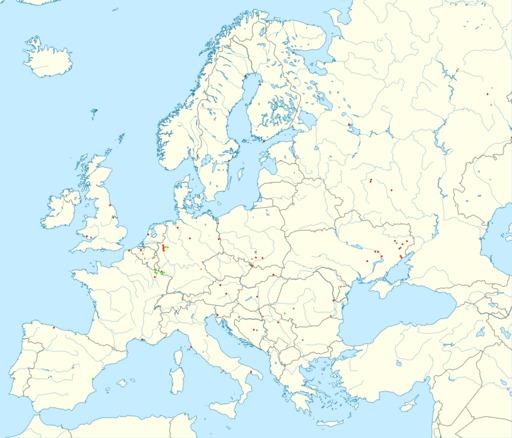 Les hauts fourneaux en Europe