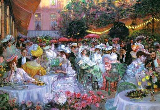Les jardins du Ritz