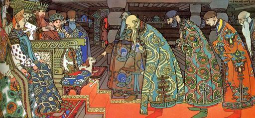 Les marchands et le tsar Saltan
