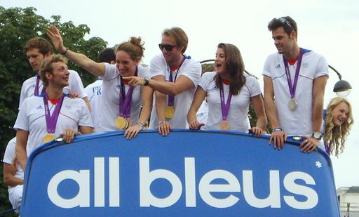 Les médailles des JO 2012