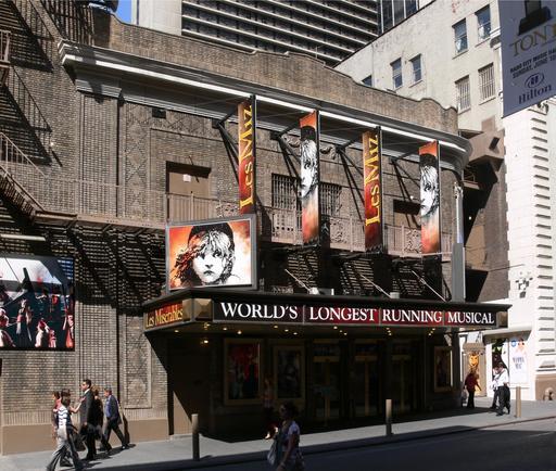 Les Misérables à New York en 2007
