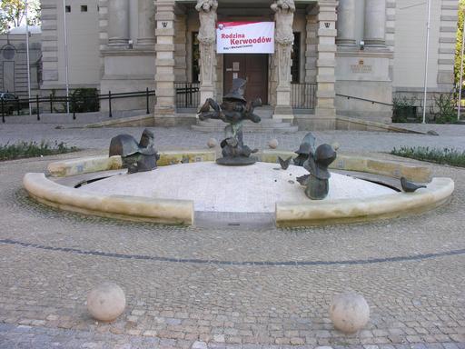 Les nains de la fontaine