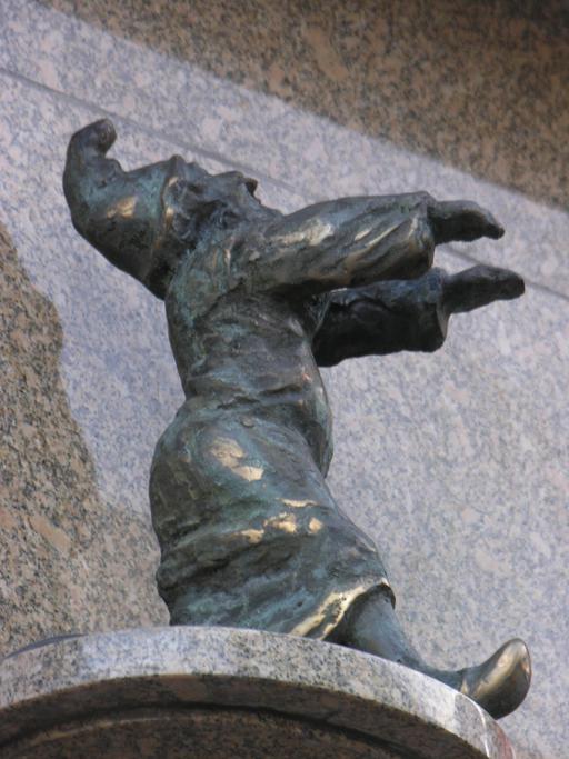 Les nains de Wroclaw : le somnambule