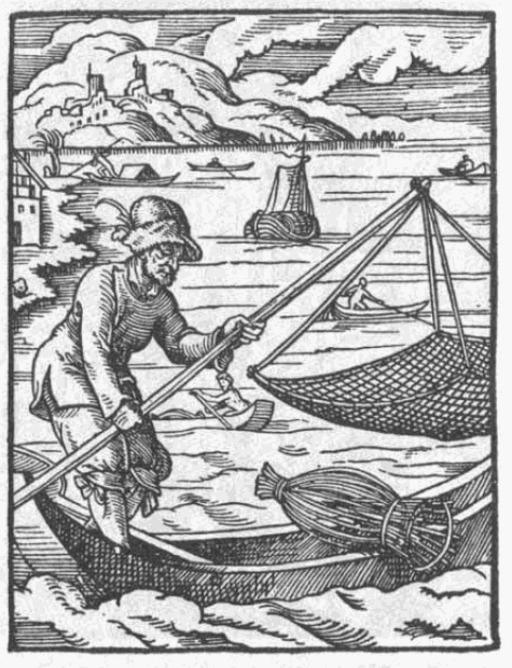 Les pêcheurs en mer