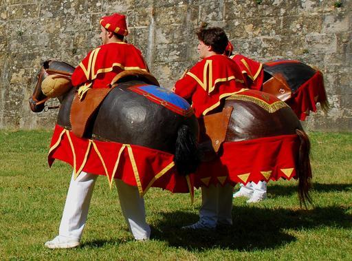 Les petits chevaux de Pampelune