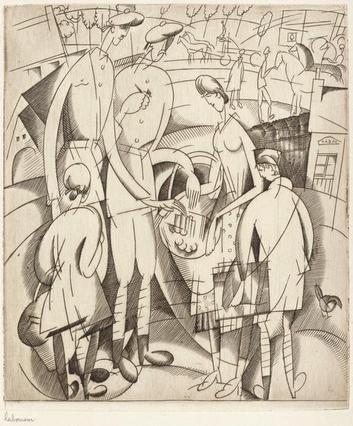 Les petits marchands du front en 1917