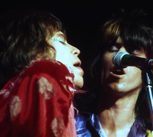 Les Rolling Stones en 1972