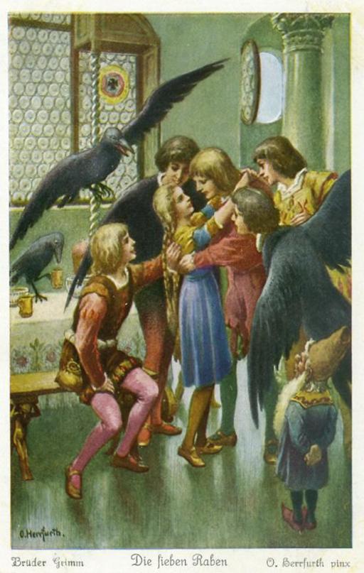 Les sept corbeaux 6