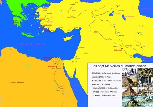 Les Sept Merveilles Du Monde Ancien