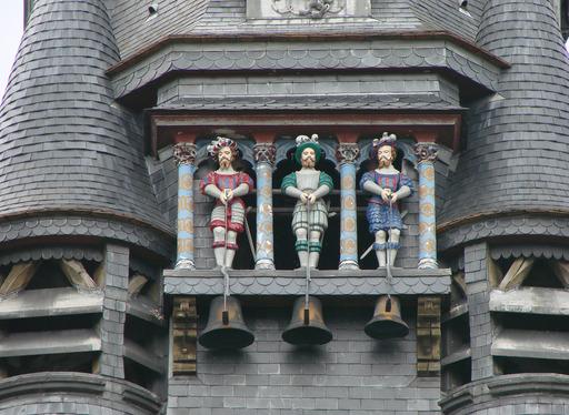 Les trois cloches du carillon de Compiègne