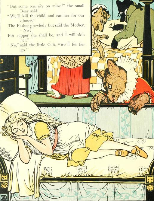 Les trois ours par Walter Crane - 44