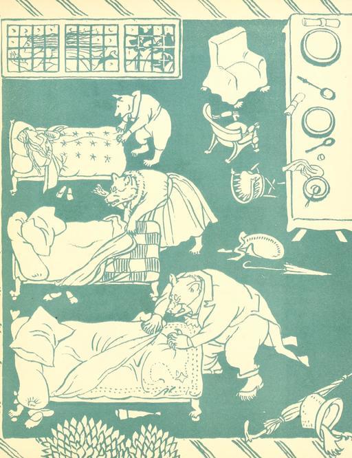 Les trois ours par Walter Crane - 47