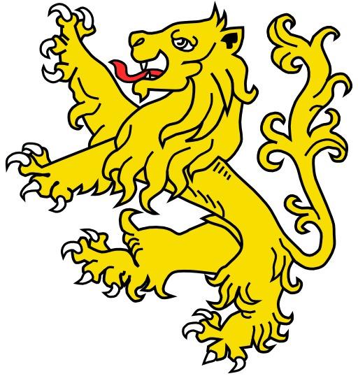 Lion Rampant en héraldique