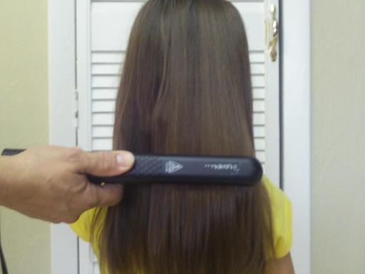 Lissage de cheveux