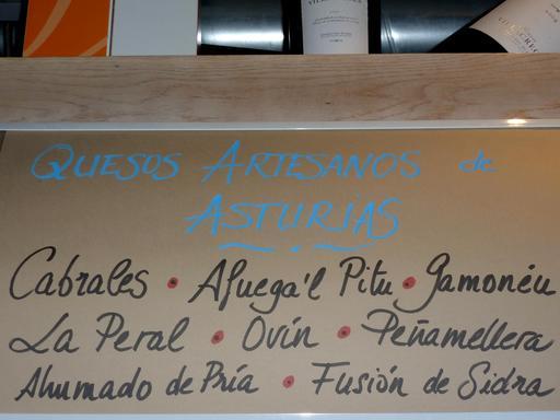 Liste de fromages asturiens