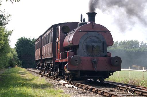 Locomotive à vapeur en 2009