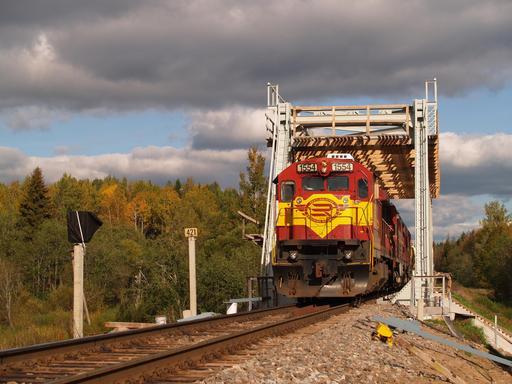 Locomotive diésel en Estonie