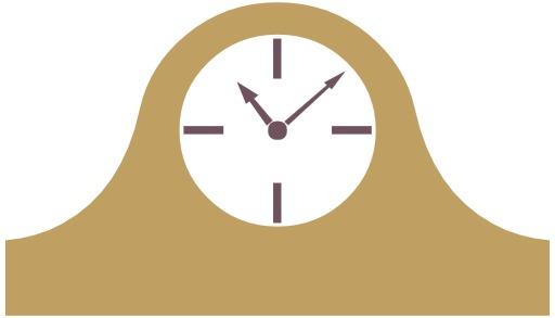 Logo d'horloge