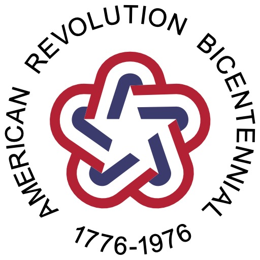 Logo du bicentenaire de la Révolution Américaine