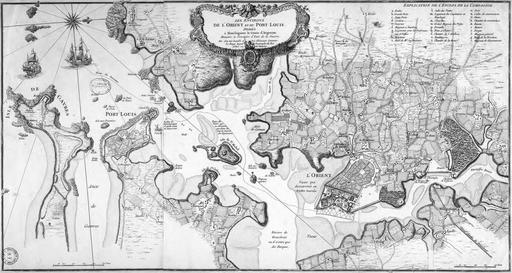 Lorient au XVIIIème siècle