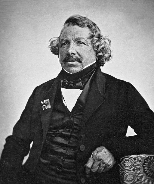 Portrait de Louis Daguerre en 1844