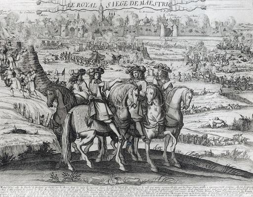 Louis XIV et le siège de Maastricht en 1673