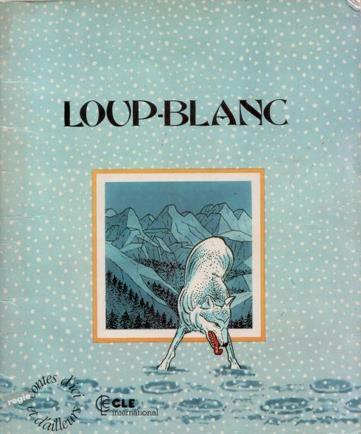 Loup-Blanc, couverture