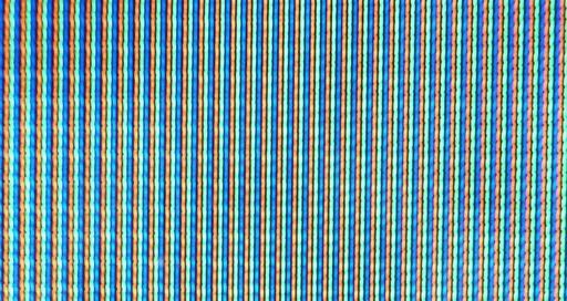 Luminophores d'un tube cathodique de téléviseur