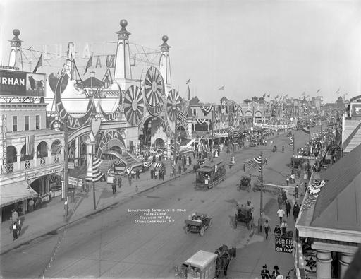 Luna Park à NY en 1912