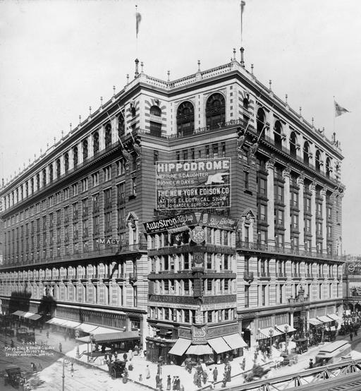 Macy's à NY en 1907