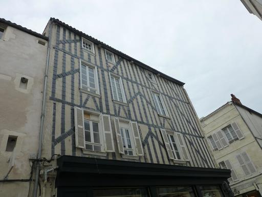 Maison à colombage à La Rochelle