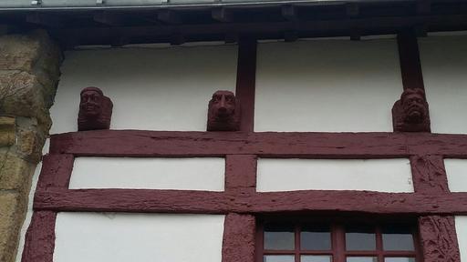 Maison à colombages à Port-Goustan