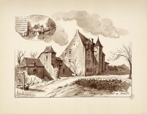Maison forte de Brassalay-Biron