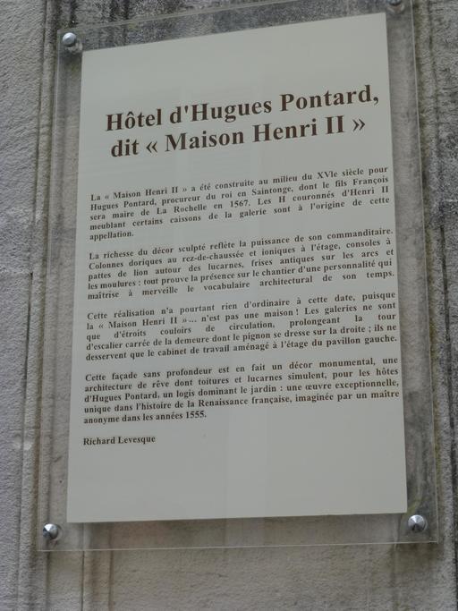 Maison Henry II à La Rochelle