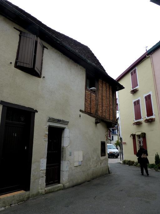 Maison médiévale à colombage à Salies-de-Béarn