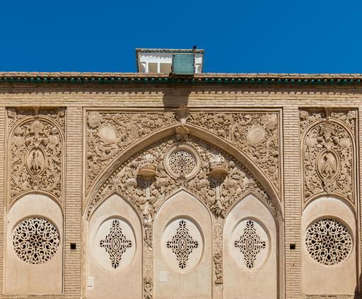 Maison persane de Boroujerdi en Iran