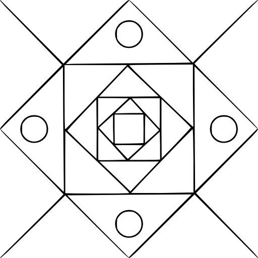 Mandala à colorier