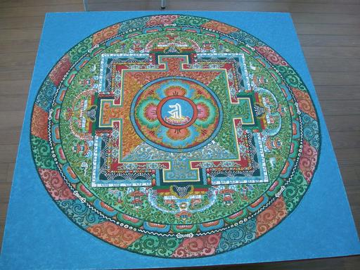 Mandala de Sable 07