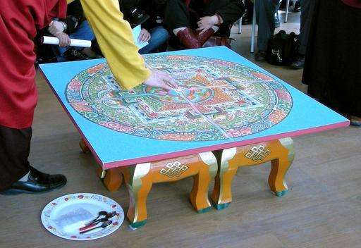 Mandala de Sable 09