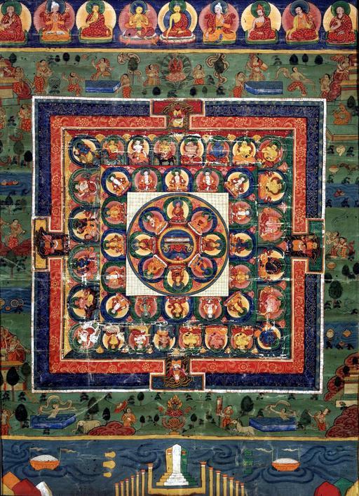 Mandala du XIXème siècle